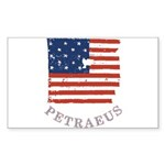Old Glory Petraeus Sticker (Rectangle 10 pk)