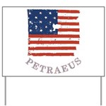 Old Glory Petraeus Yard Sign