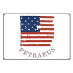 Old Glory Petraeus Banner