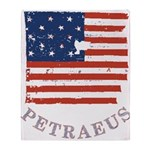 Old Glory Petraeus Throw Blanket