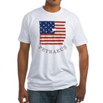 Old Glory Petraeus Fitted T-Shirt