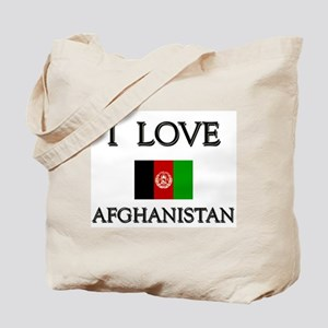 I Love Afghanistan Tote Bag