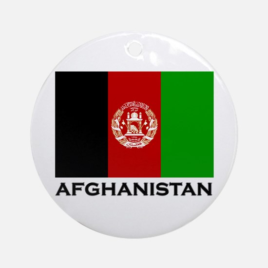 Afghanistan Ornament (Round)