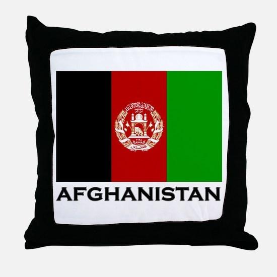 Afghanistan Throw Pillow
