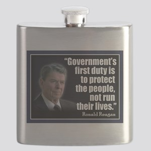 Reagan Anti Progressive Flask