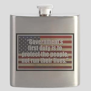 Ronald Reagan Quotes Flask