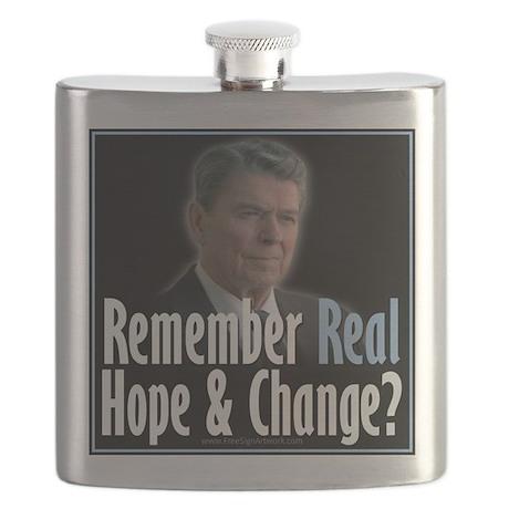 Reagan Hope Change Flask