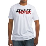 Atheist Voter Fitted T-Shirt