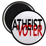 "Atheist Voter 2.25"" Magnet (10 pack)"