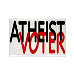 Atheist Voter Rectangle Magnet (10 pack)