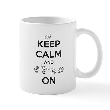 Sign On Mug
