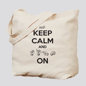 Sign On Tote Bag
