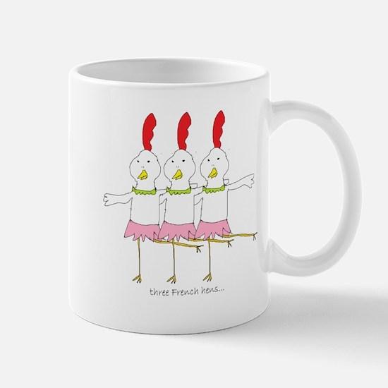 three French hens Mug