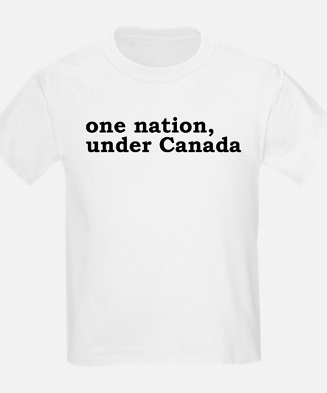One Nation Under Canada T-Shirt