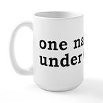 One Nation Under Canada Large Mug
