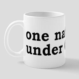 One Nation Under Canada Mug