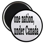 """One Nation Under Canada 2.25"""" Magnet (10 pack"""