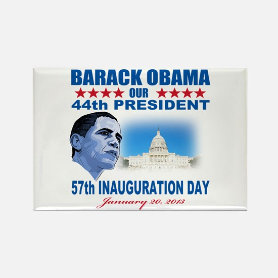 57th Presidential Inauguration Rectangle Magnet (1