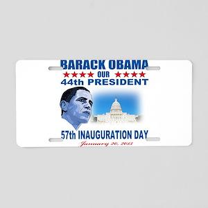57th Presidential Inauguration Aluminum License Pl
