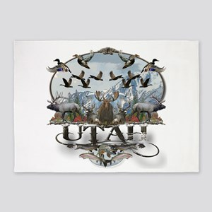 Utah outdoors 5'x7'Area Rug