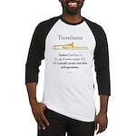 Trombone - Pitch Approxomator Baseball Jersey