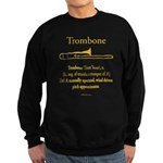 Trombone - Pitch Approxomator Sweatshirt (dark)