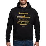 Trombone - Pitch Approxomator Hoodie (dark)