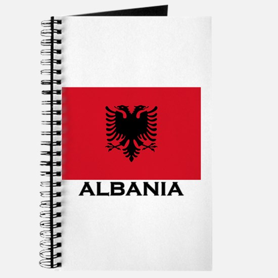 Albania Flag Gear Journal