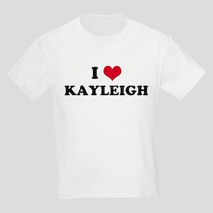 I HEART KAYLEIGH Kids T-Shirt