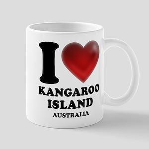 I Heart Kangaroo Island, Australia Mug