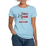 Goat Attitude Women's Light T-Shirt