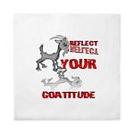 Goat Attitude Queen Duvet