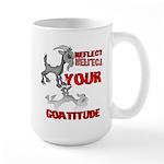 Goat Attitude Large Mug