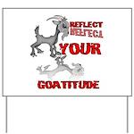Goat Attitude Yard Sign