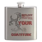 Goat Attitude Flask