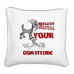 Goat Attitude Square Canvas Pillow