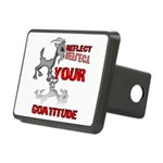 Goat Attitude Rectangular Hitch Cover