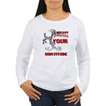 Goat Attitude Women's Long Sleeve T-Shirt