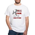 Goat Attitude White T-Shirt