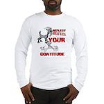Goat Attitude Long Sleeve T-Shirt
