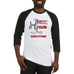 Goat Attitude Baseball Jersey
