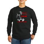 Goat Attitude Long Sleeve Dark T-Shirt