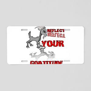 Goat Attitude Aluminum License Plate