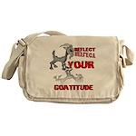 Goat Attitude Messenger Bag