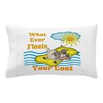 Float Your Goat Pillow Case