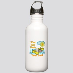 Float Your Goat Stainless Water Bottle 1.0L