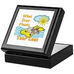 Float Your Goat Keepsake Box