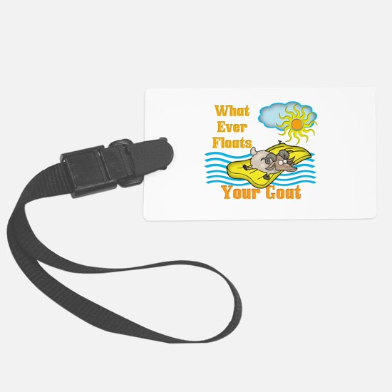 Float Your Goat Luggage Tag
