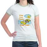 Float Your Goat Jr. Ringer T-Shirt
