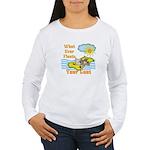 Float Your Goat Women's Long Sleeve T-Shirt